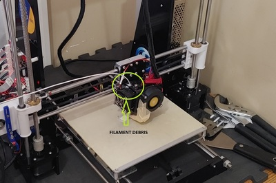 My Printer   Debris